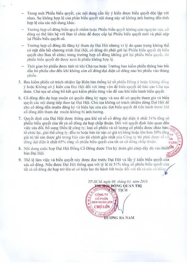 The le lam viec va bieu quyet tai DHCD thuong nien nam 2018_002
